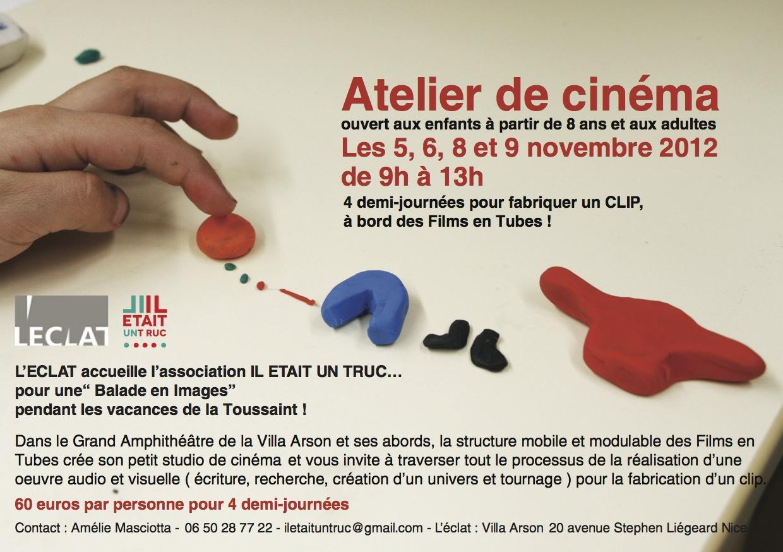 Com' Atelier Cinéma ECLAT TOUSSAINT