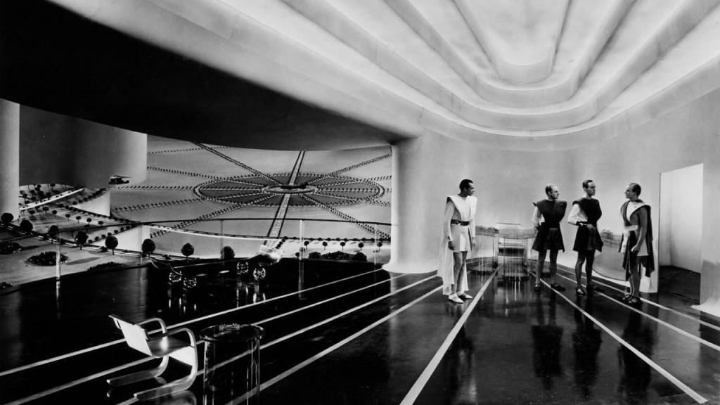 Les Mondes Futures de William Cameron Menzies I La Station Service
